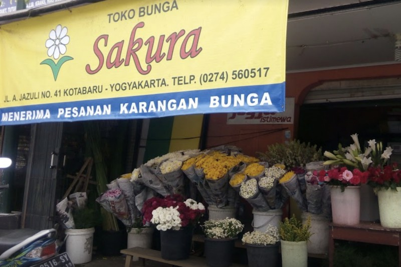 Toko Bunga Sakura