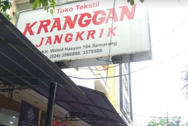 Toko Tekstil Kranggan Jangkrik